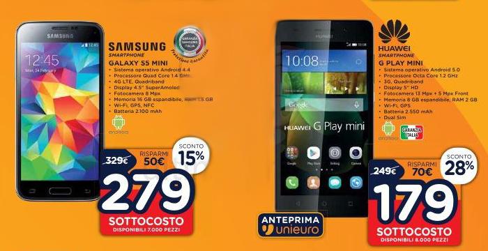 Samsung S5 Mini Unieuro