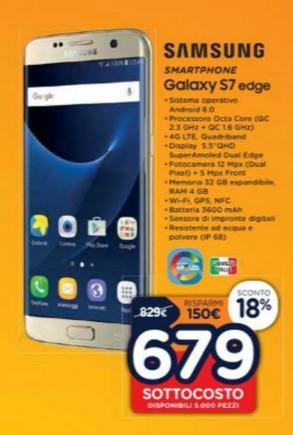 Samsung S7 Edge Unieuro