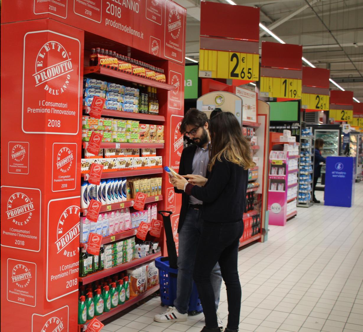 Scaffali Carrefour