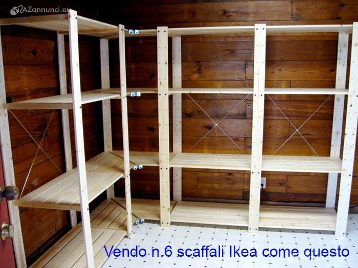 Scaffali In Legno Ikea