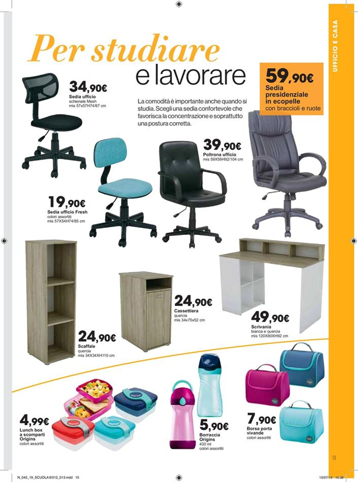Sedie Da Ufficio Online Carrefour