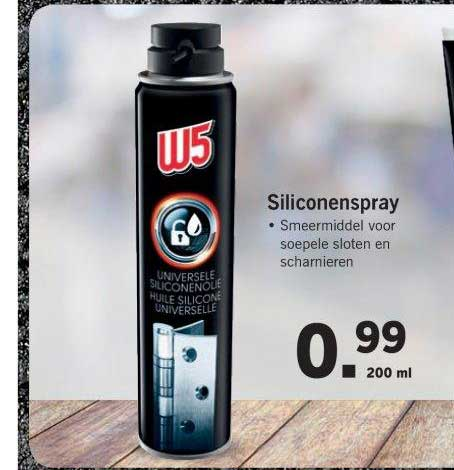 Silicone Spray Lidl