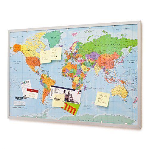Sughero Mappa Del Mondo Ikea