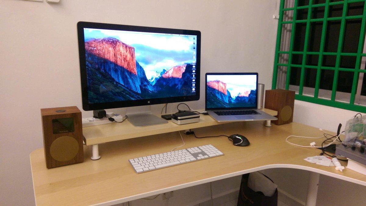Supporto Monitor Ikea