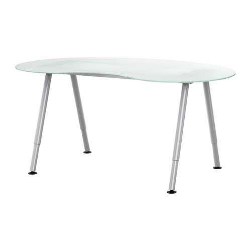 Tavolo Da Scrivania In Vetro Ikea