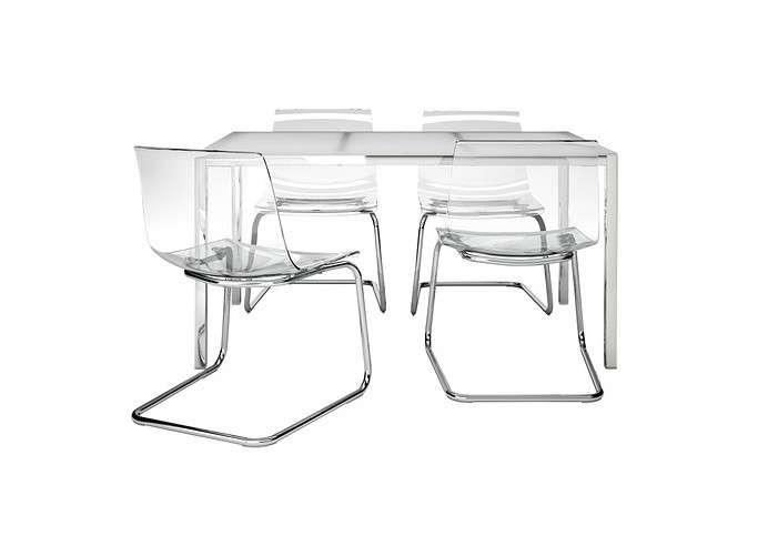 Tavolo Da Ufficio In Vetro Ikea