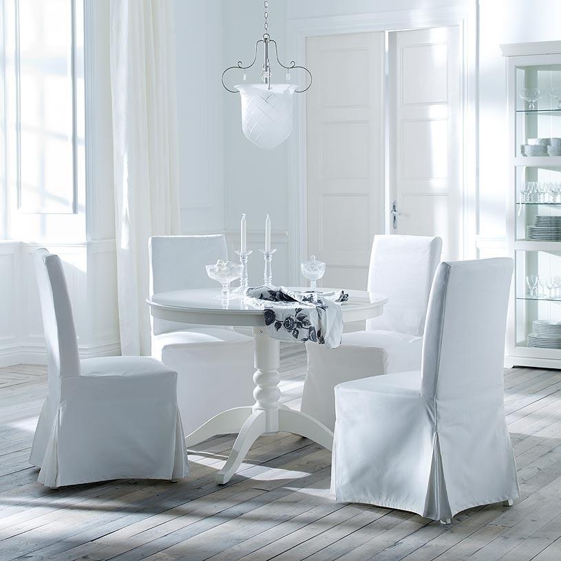 Tavolo Rotondo Bianco Ikea