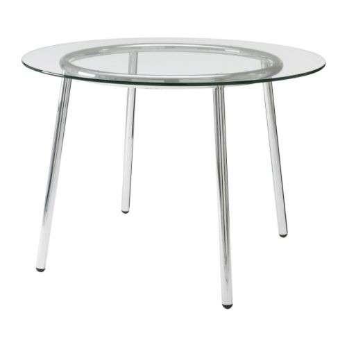 Tavolo Rotondo In Cristallo Ikea