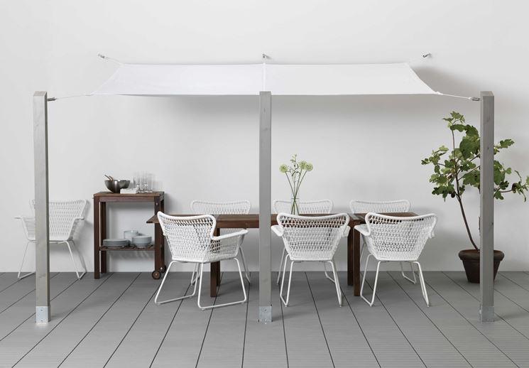 Tenda Da Sole Rettangolare Ikea