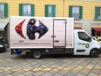 Trasportatore Alimentare Carrefour