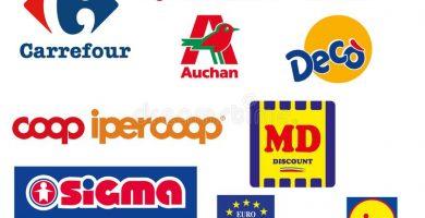 Vettore Alimentare Auchan