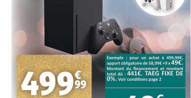 Xbox Series X Auchan