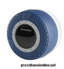 Altoparlante Bluetooth Doccia Lidl