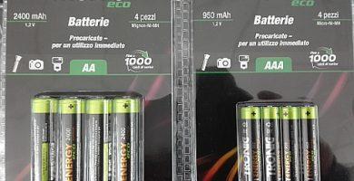 Batterie Ricaricabili Lidl