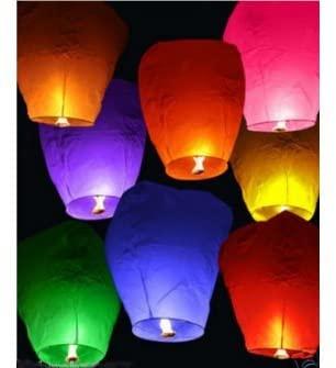 Lanterne Volanti Amazon