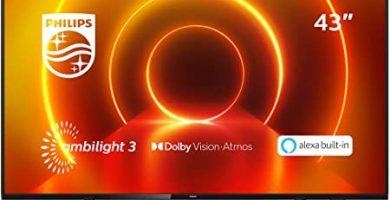 Philips Tv Ambilight 43Pus7805 Amazon